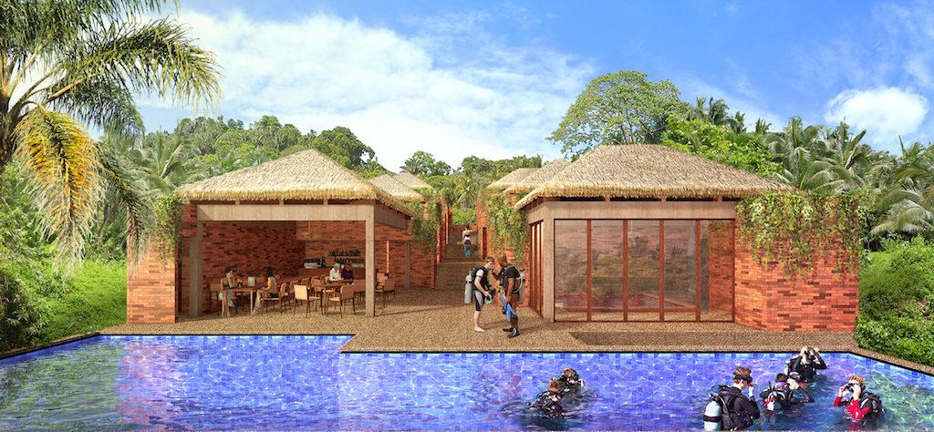 Votre centre de plongée se construit à Bali !