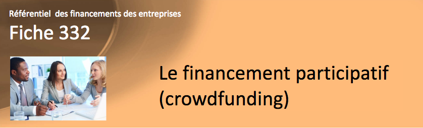 La fiche de la Banque de France sur le financement participatif (crowdfunding)