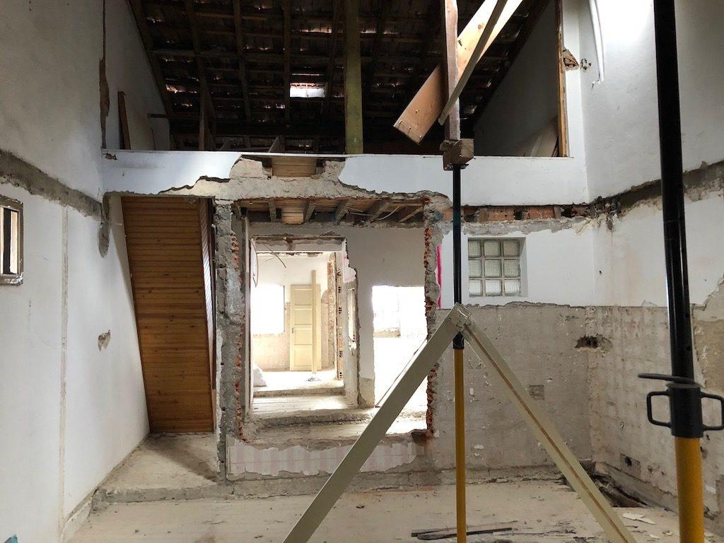 crowdfunding à Lisbonne immobilier chantier Passadiço mezzanine