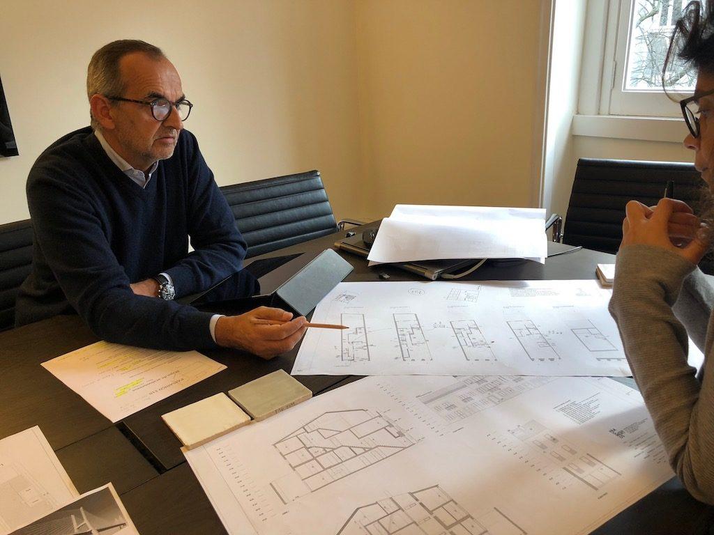 crowdfunding à Lisbonne immobilier réunion architecte Passadiço