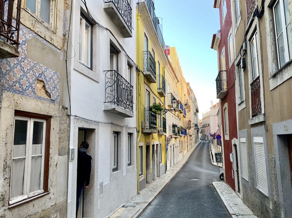 Rua Passadiço investissement Epatrimony à Lisbonne